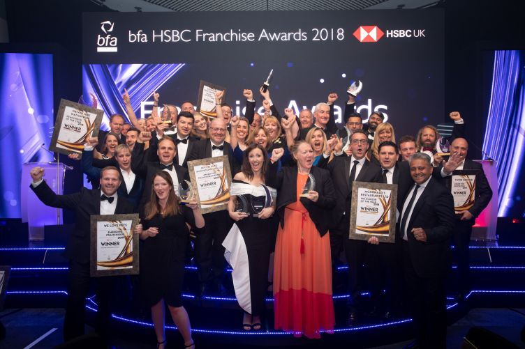 Winners Announced: British Franchise Association HSBC Franchise Awards 2018
